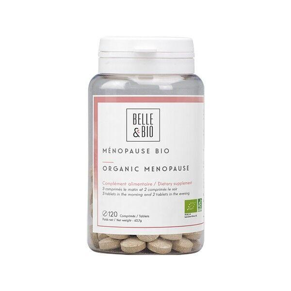 Belle et Bio Ménopause Bio 120 comprimés - Confort et Bien-être féminin
