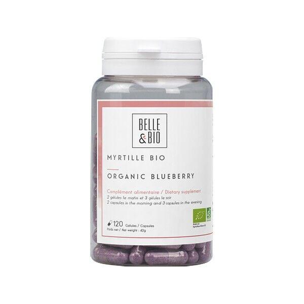Belle et Bio Myrtille Bio 120 gélules (Vaccinum Myrtillus L.)