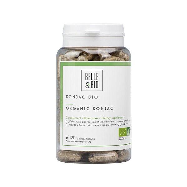 Belle et Bio Konjac Bio 120 gélules - 90% de glucomananes