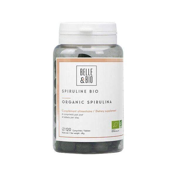 Belle et Bio Spiruline Bio 120 comprimés - Forme, Vitalité