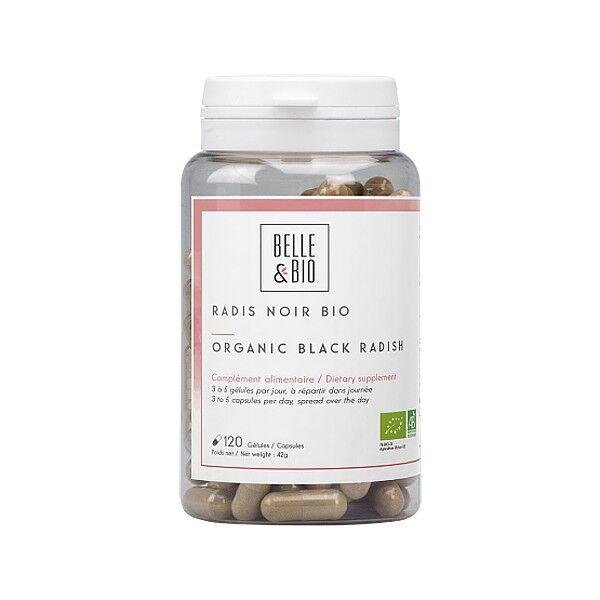 Belle et Bio Radis Noir Bio 120 gélules - Bien-être du foie