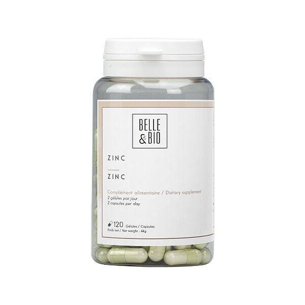Belle et Bio Zinc 120 gélules - Beauté de la peau