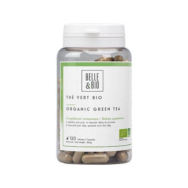 Belle et Bio Thé Vert Bio 120 gélules  - Allié minceur