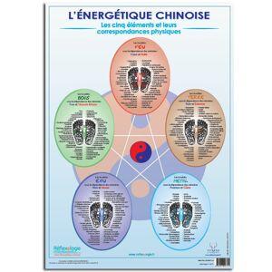 """Poster Mireille MEUNIER A2 """"Les 5 Éléments selon l'énergétique chinoise"""" - Publicité"""