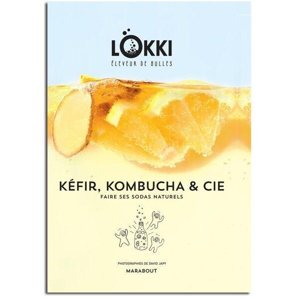 Les Éditions Marabout Kefir, kombucha et cie - Sebastian et Nina Lokki