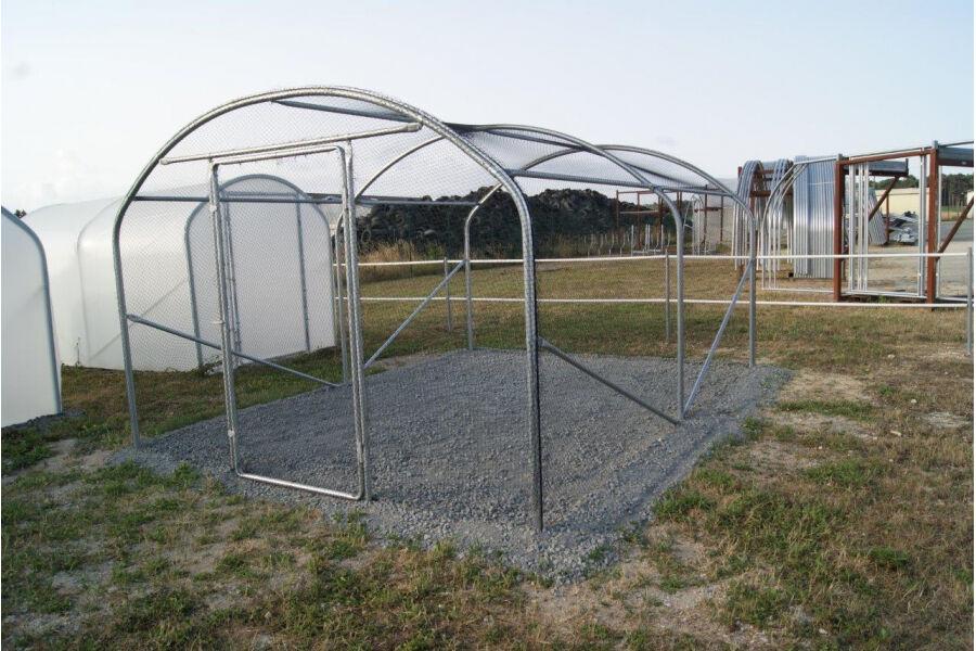 SVL Volière extérieure / Enclos poulaillier Larg. 2 m