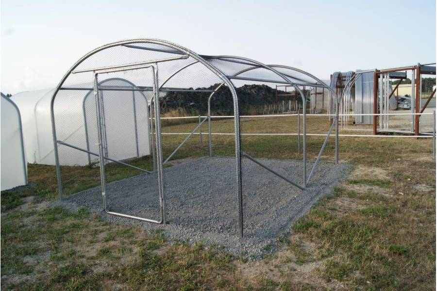 SVL Volière extérieure / Enclos poulaillier Larg. 3 m