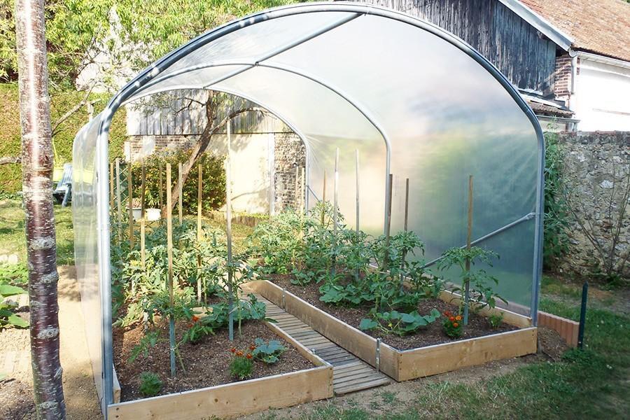 SVL Serre à tomates larg. 3 m