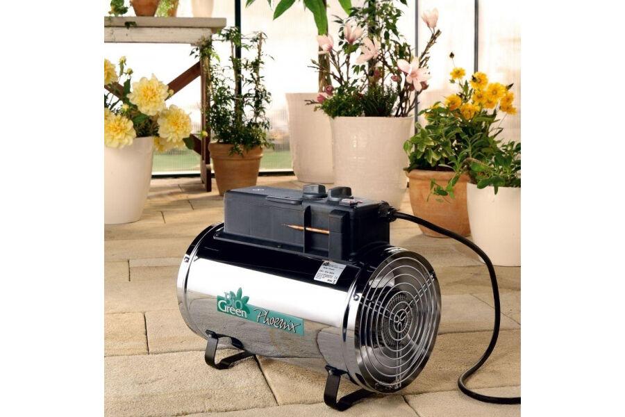 Biogreen Chauffage électrique Manuel pour serre