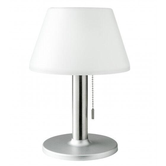 Jardin et Saisons Lampe de table solaire 10 LED blanche