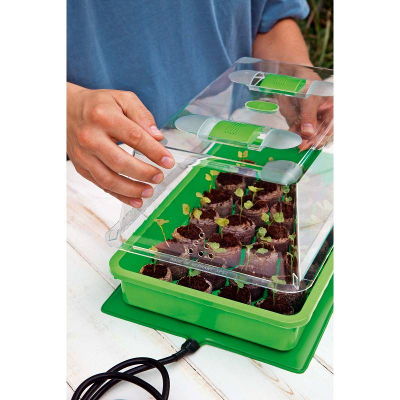 Jardin et Saisons Nappe chauffante électrique pour semis