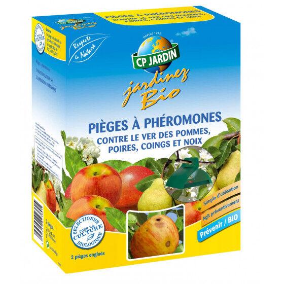 CP JARDIN Piège à phéromone contre le ver des pommes et poires (les 2)