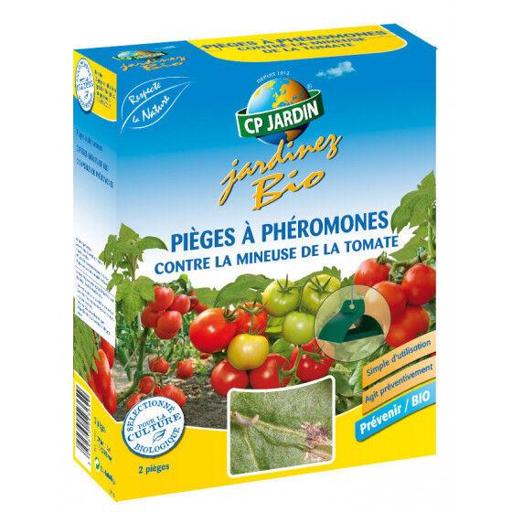 CP JARDIN Piège à phéromone contre la mineuse de la tomate (les 2)