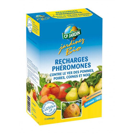 CP JARDIN 2 recharges pour piège à phéromone pommes et poires