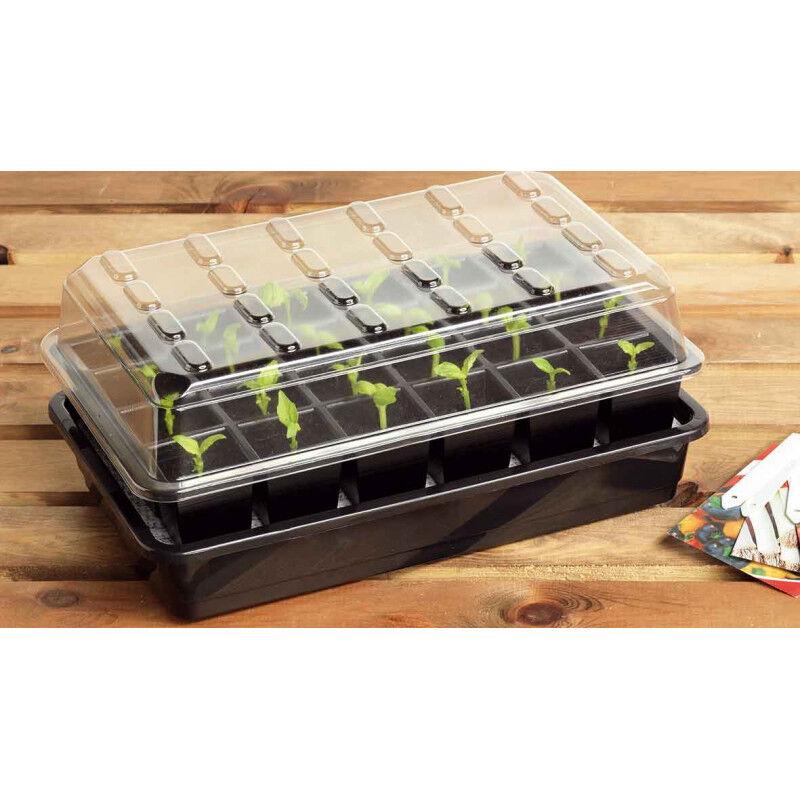 Jardin et Saisons Bac à semis avec arrosage automatique