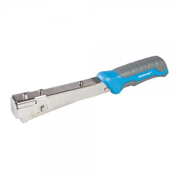 Silverline Agrafeuse marteau usage intensif 6 à 10 mm Silverline 564322