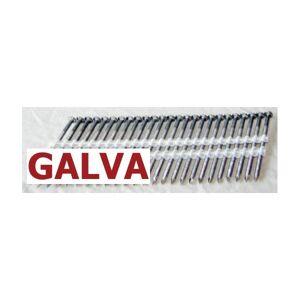 Kicloutou Pointes 20° GALVA TORSADEES 3.8x120 boite de 1500 - Publicité