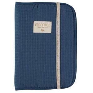 Nobodinoz Protège Carnet de Santé Poema Honey Comb - Night Blue