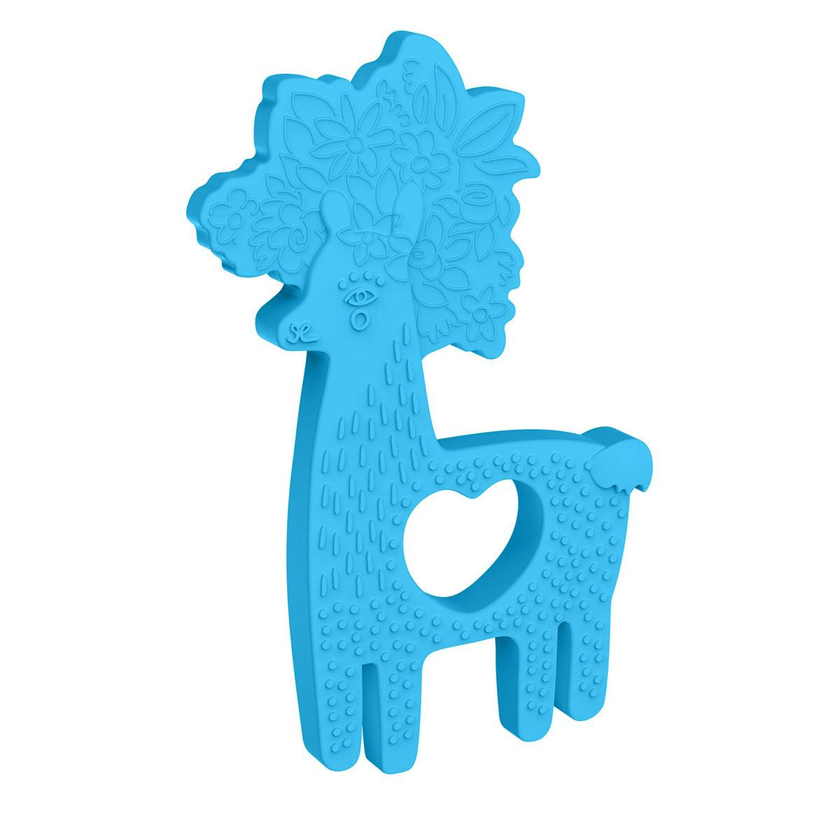 Manhattan Toy Anneau de Dentition Lama Silicone