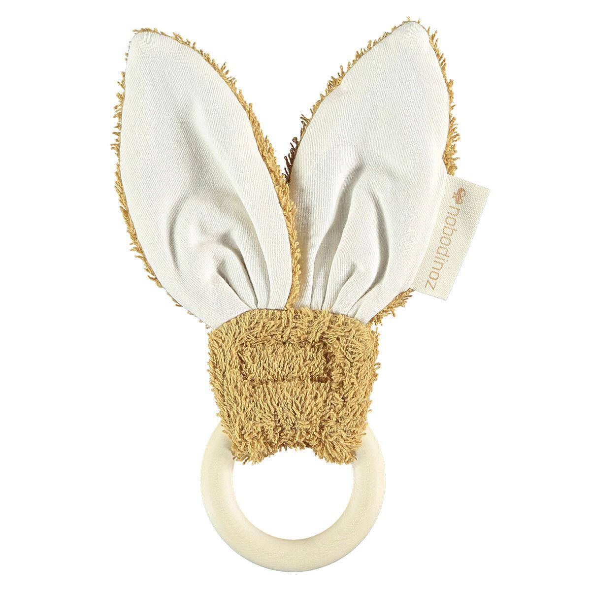 Nobodinoz Anneau de Dentition Bunny - Caramel