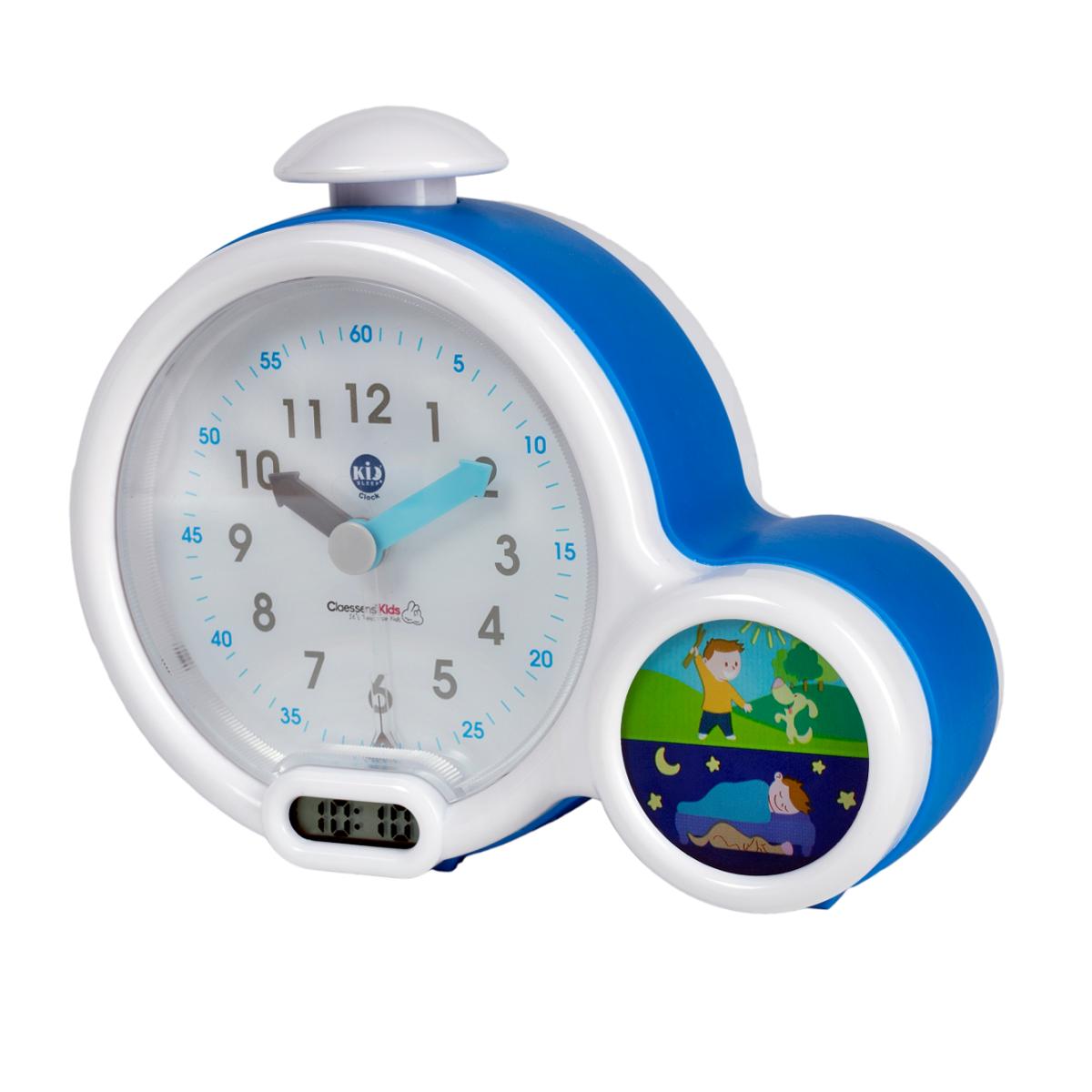 Claessens'Kids Kid'Sleep Clock Bleu - Mon premier réveil