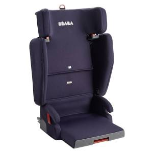 BÉABA Siège Auto Compact et Nomade Purseat'Fix Isofix Groupe 2/3 - Bleu Marine