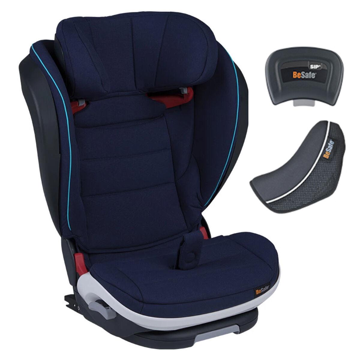 besafe siège auto izi flex fix i-size groupe 2/3 - blue legacy