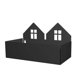 Roommate Etagère Maison Duo - Noir