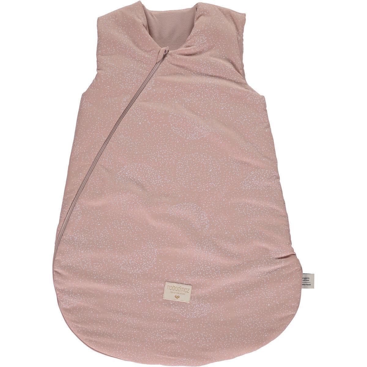 Nobodinoz Gigoteuse Cocoon White Bubble & Misty Pink - 0/6 Mois