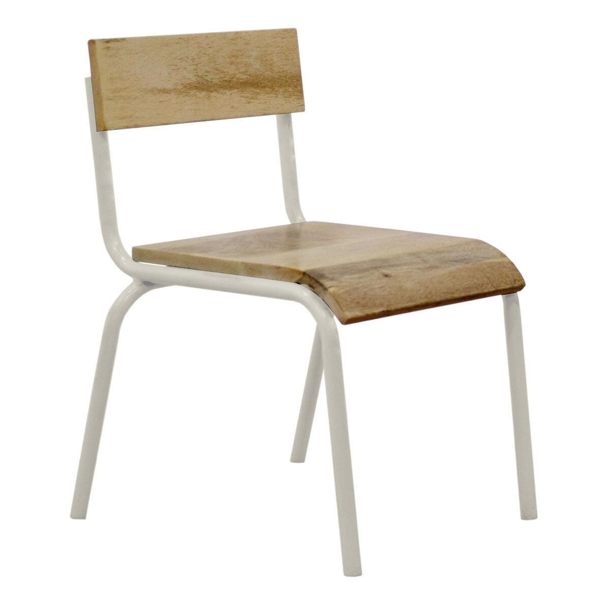 Kids Depot Chaise d'Écolier - Blanc