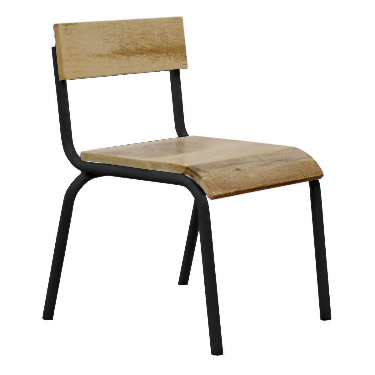 Kids Depot Chaise d'Écolier - Noir