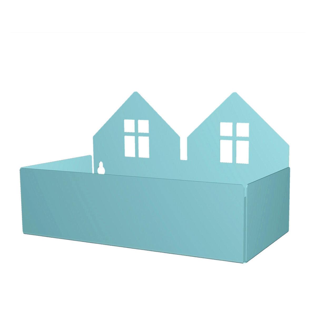 Roommate Etagère Maison Duo - Bleu