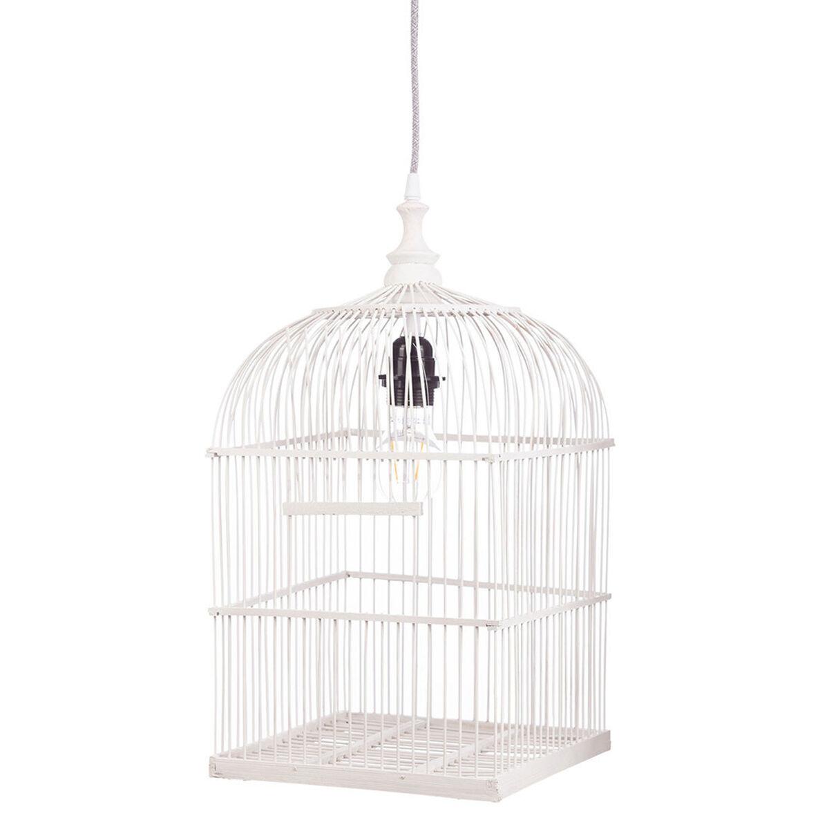 Kids Depot Suspension Cage à Oiseaux - Blanc