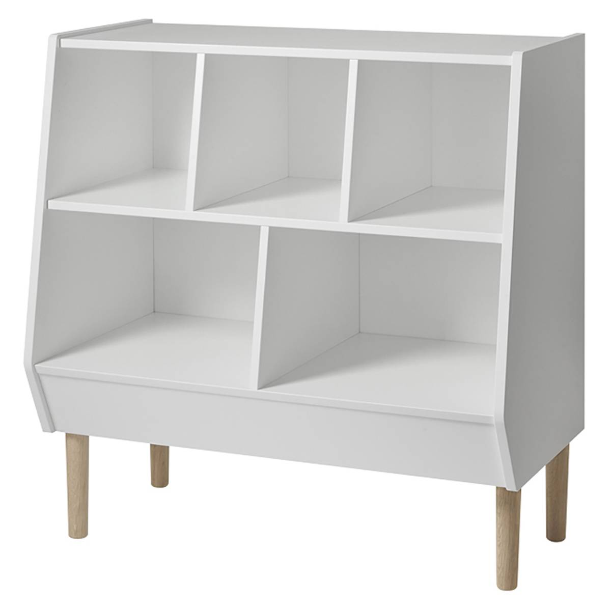 Done by Deer Commode Storage Rack - Blanc