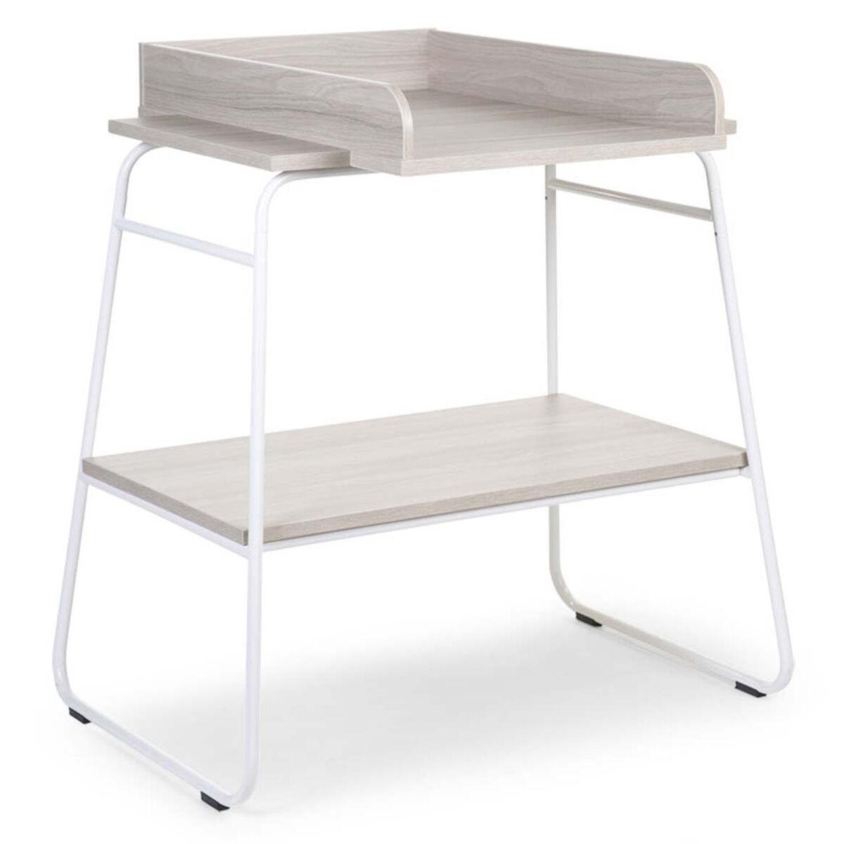 Childhome Table à Langer Ironwood Large - Ashen et Blanc