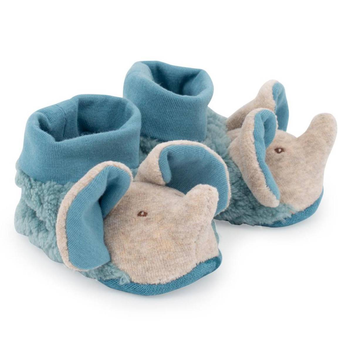 Moulin Roty Chaussons Eléphant Sous mon Baobab - 16/17
