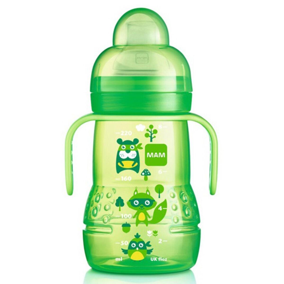 mam biberon de transition vert - 220 ml