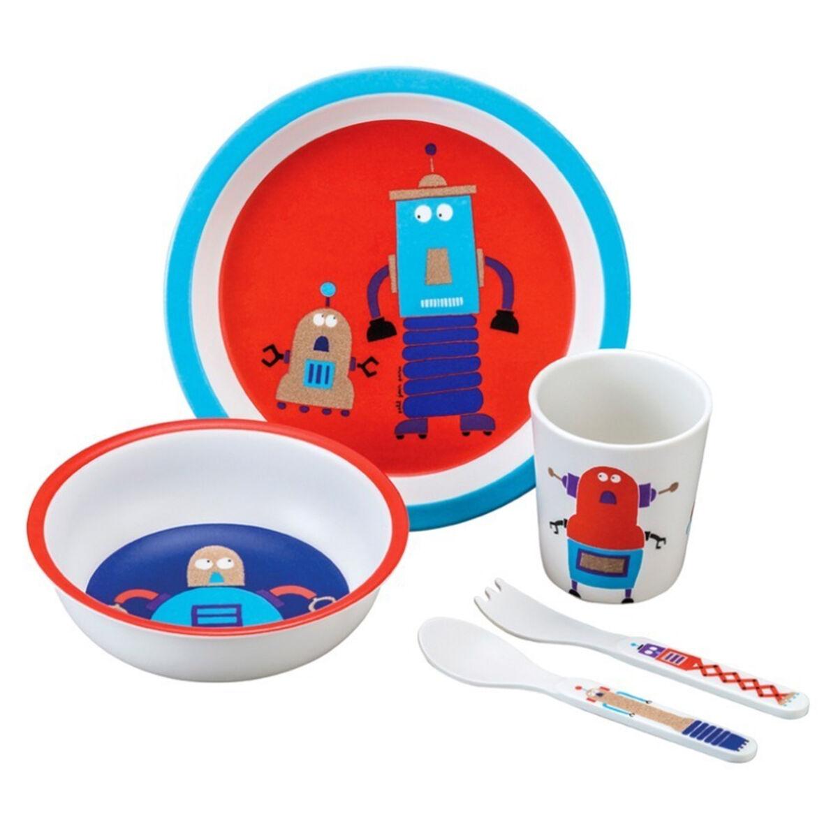 Maison Petit Jour Coffret Cadeau 5 Pièces Scintillant - Les Robots