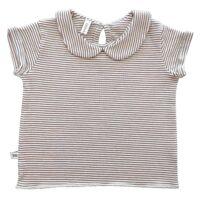 BAMBOOM Tee-Shirt Col Claudine Milleraies Rose - 9/12 Mois <br /><b>11.5 EUR</b> L'Armoire De Bébé