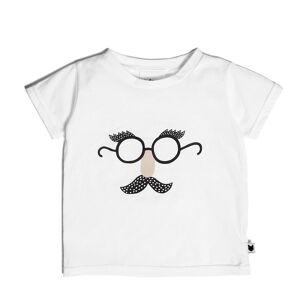Tobias & The Bear Tee-Shirt Funny Face - 0/6 Mois - Publicité
