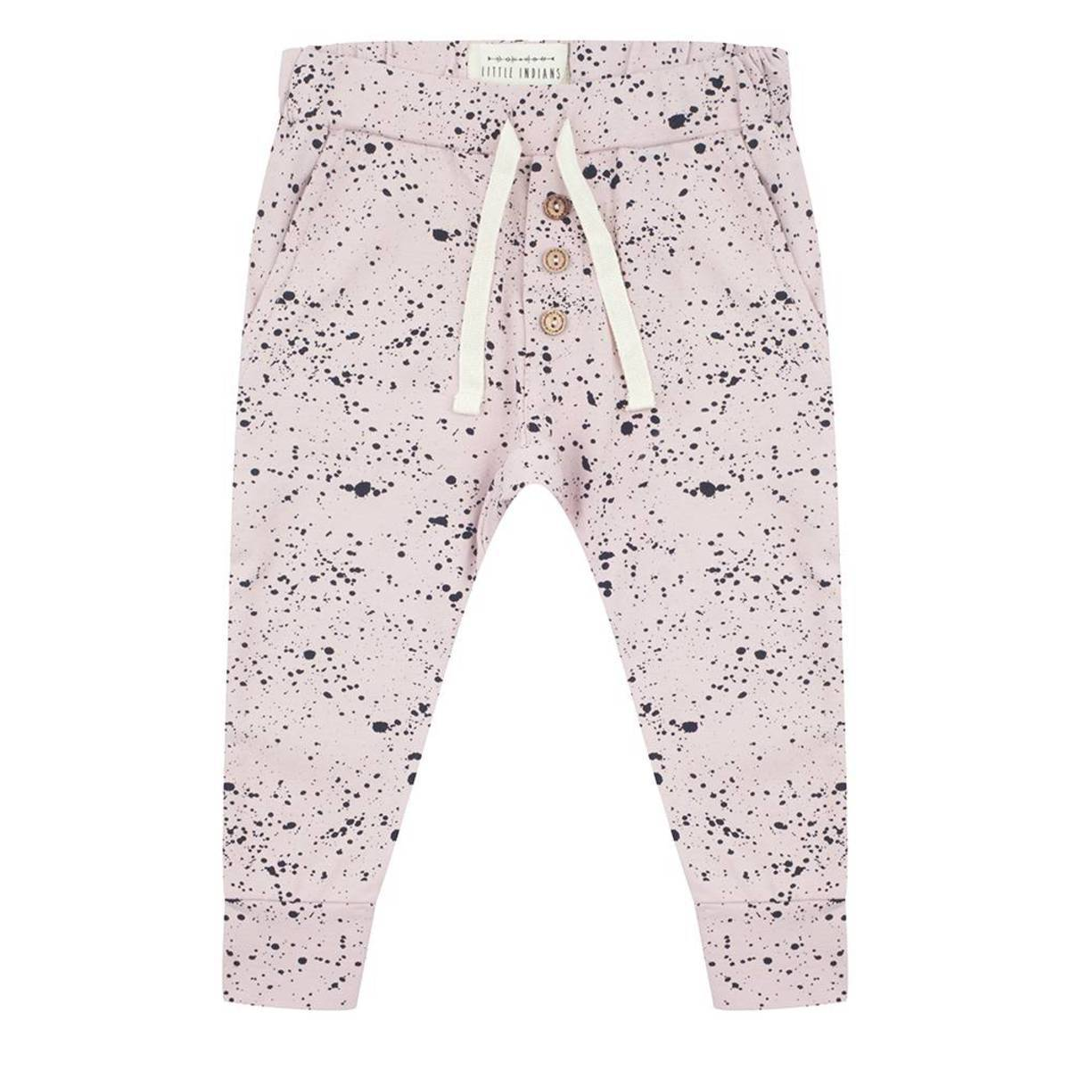 Little Indians Pantalon Splash Rose - 6/9 mois