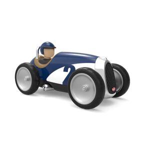 Baghera Voiture en Métal Racing Car - Bleu - Publicité