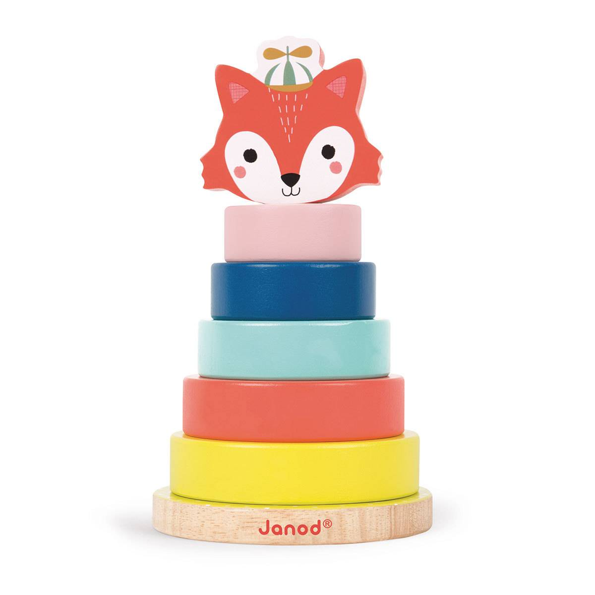 Janod Jeu Empilable Renard - Baby Forest