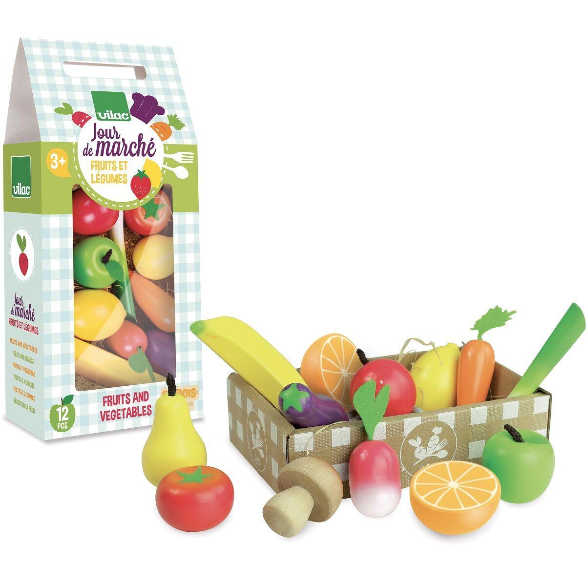 Vilac Jour de Marché Set fruits et légumes