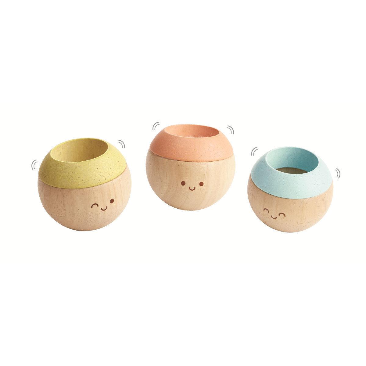 Plan Toys Têtes Sensorielles - Pastel