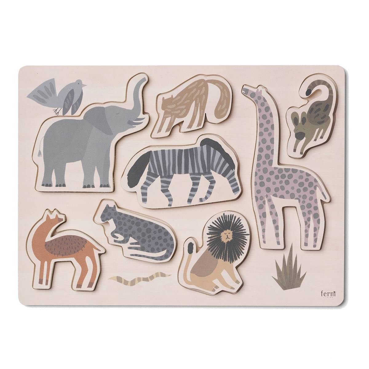 Ferm Living Puzzle Safari