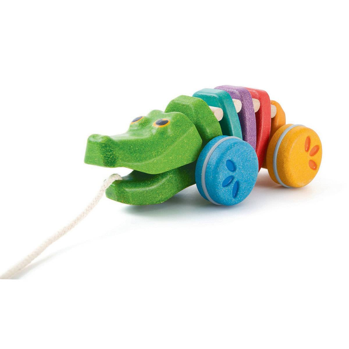 Plan Toys Alligator Arc-En-Ciel