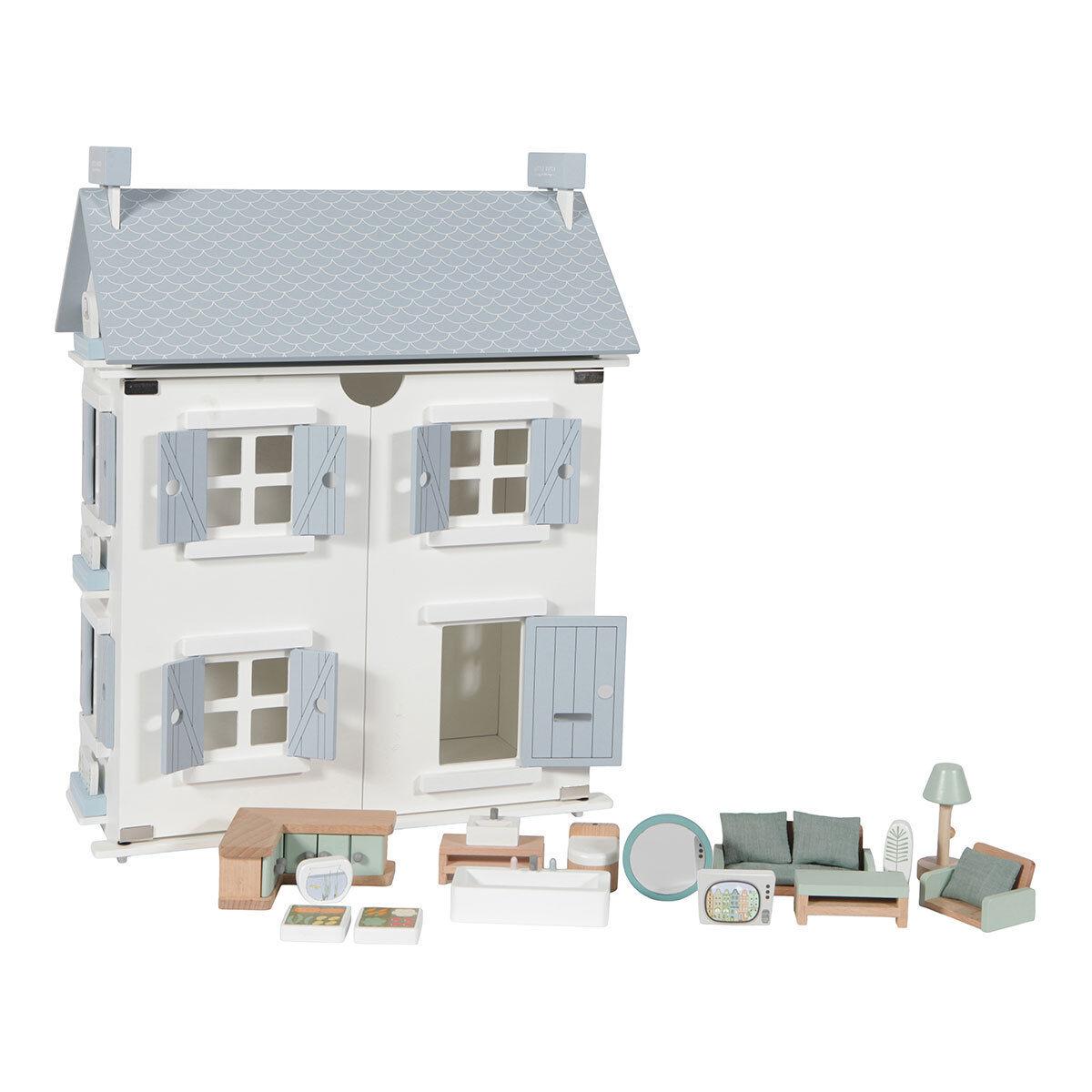 little dutch maison de poupée - 20 pièces
