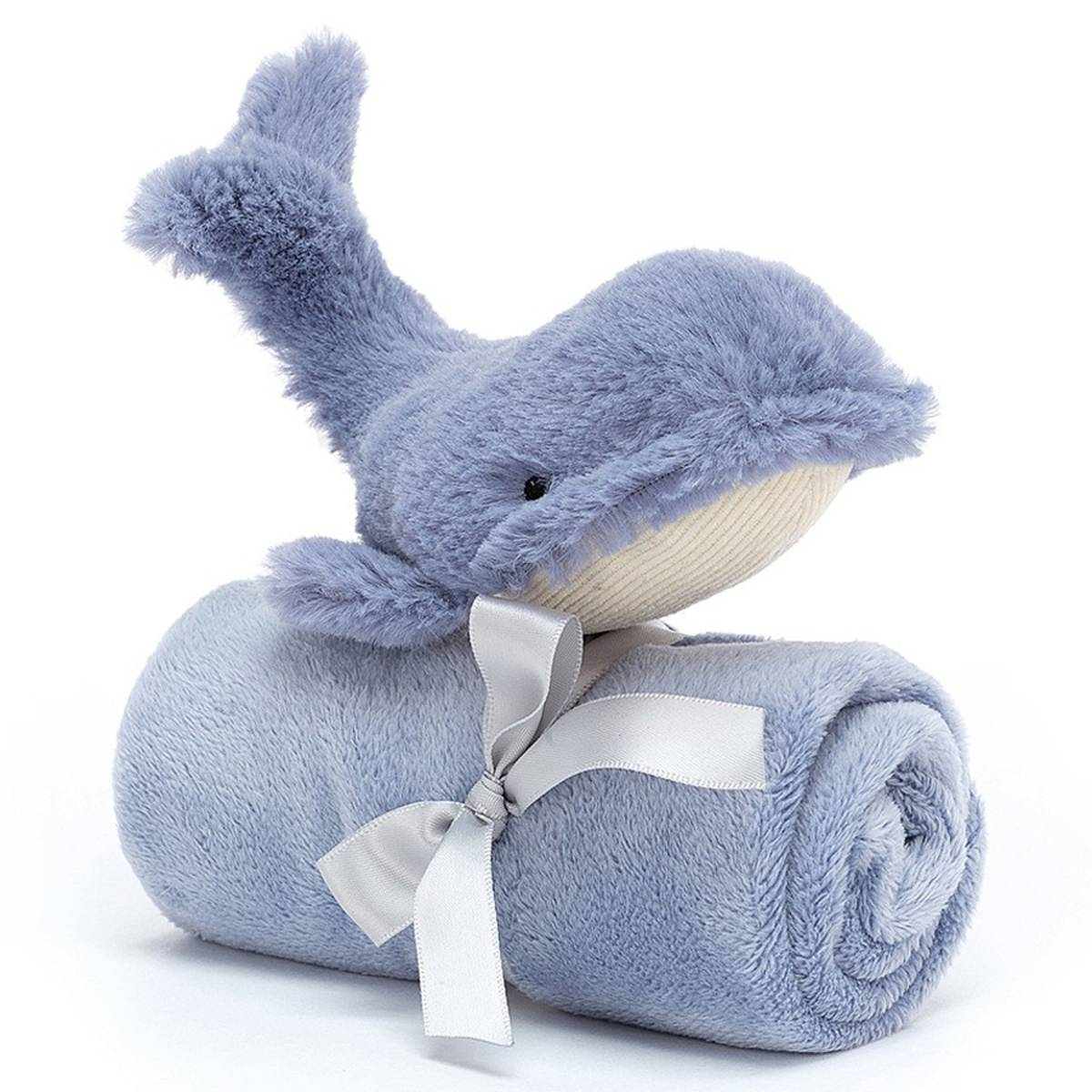 Little Jellycat Wilbur Whale Soother