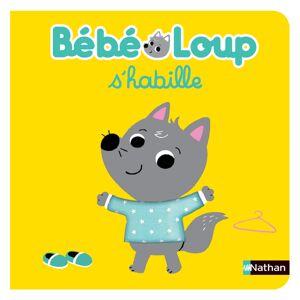 Nathan Editions Bébé Loup S'habille - Publicité